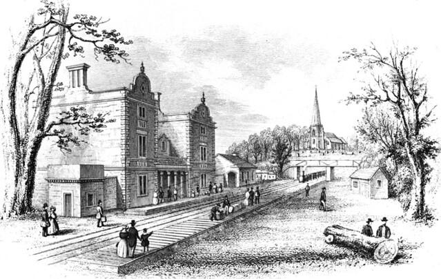 Lichfield City Station 1842