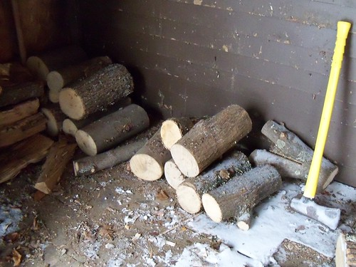wood piles low