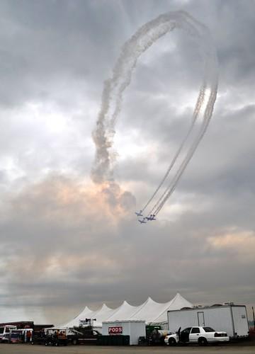 AeroShell Aerobatic Team, Florida International Air Show, Punta Gorda, March 2013