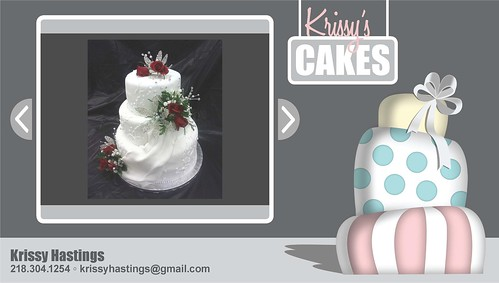Krissy Hastings - Cake Portfolio by intraordinary