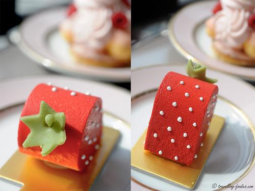 fraise collage