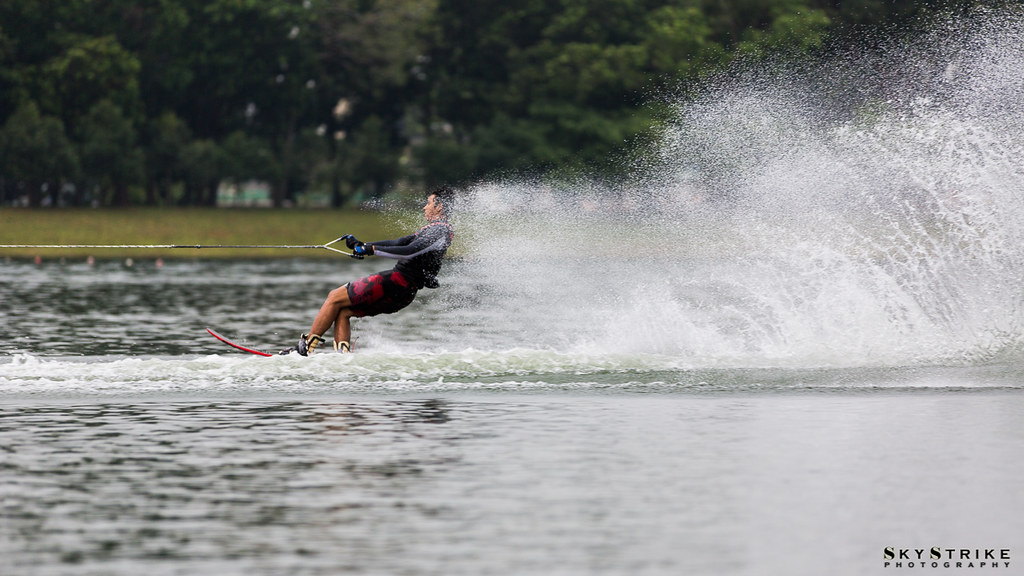 Water Skiing @ Bedok Reservoir