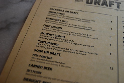 Polite Provisions menu