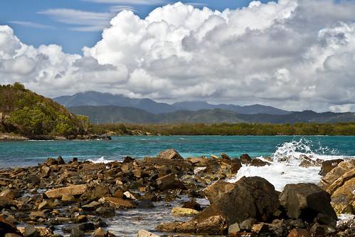 Looking across Bahia de Puerca