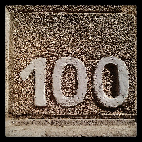 yüz numara #number #hundred #brussels #wall #door