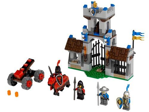 LEGO Castle 2013 70402 The Gatehouse Raid