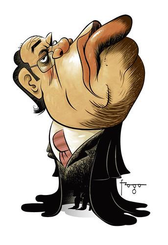 Resultado de imagem para caricatur de gilmar mendes