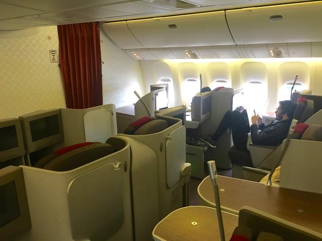 Cabine business 777 Garuda