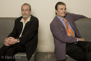 Martin Mull and Fred Willard Portrait by Dan Dion