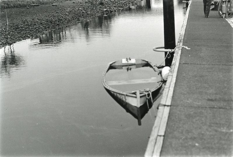sinking boat in Illwaco