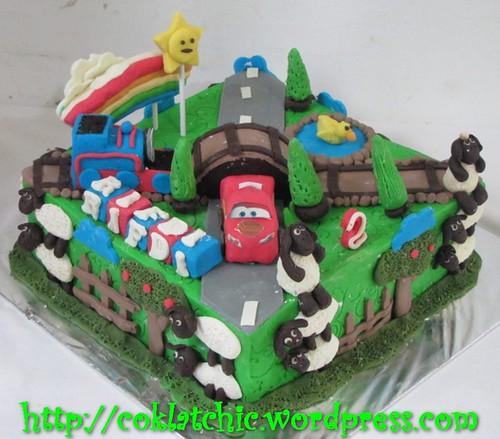Cake Cars, Thomas, Shaun the sheep
