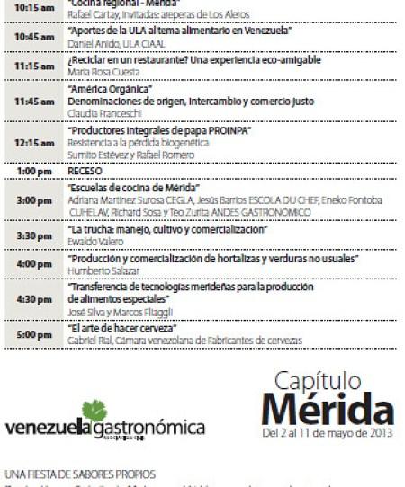 MERIDA VENEZUELA GASTRONOMICA