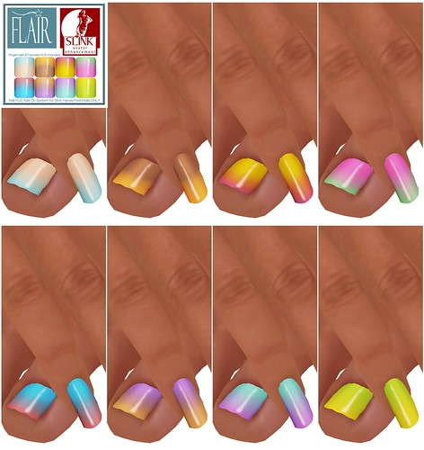 Flair - Nails Set 49