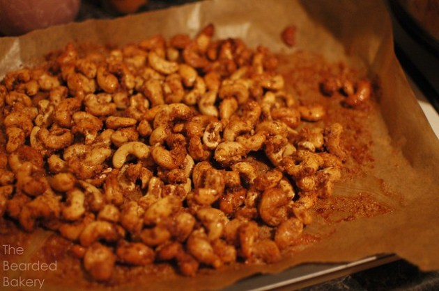 Cinnamon Candy Cashews