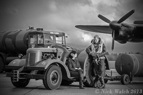 Pip and Alice @ Lincolnshire Aviation Centre