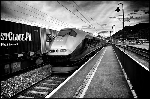 Fast Train Coming by Davidap2009