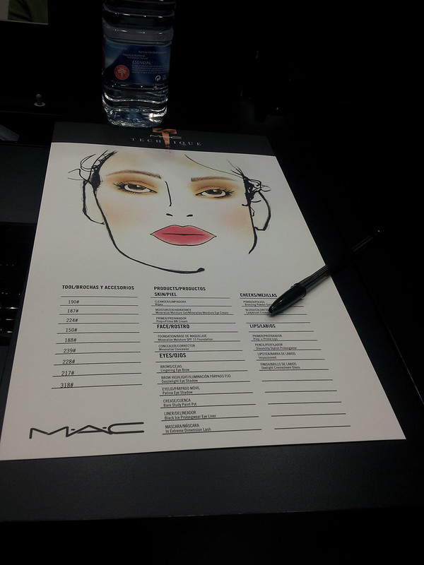 mac technique, curso de maquillaje