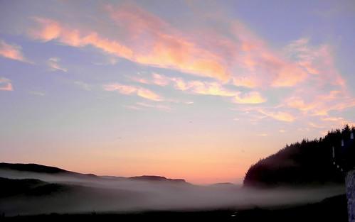 Misty Glengorm by Calum Hall Tobermory
