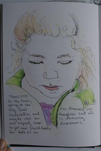 Sketch of my daughter