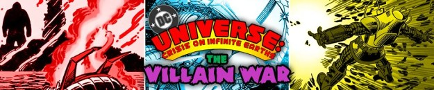 DC Universe: Crisis on Infinite Earths: The Villain War: The Five Earths Project