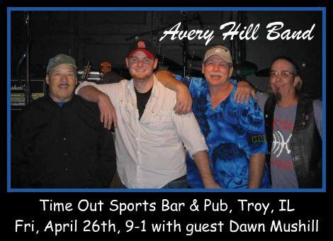 Avery Hill Band 4-26-13