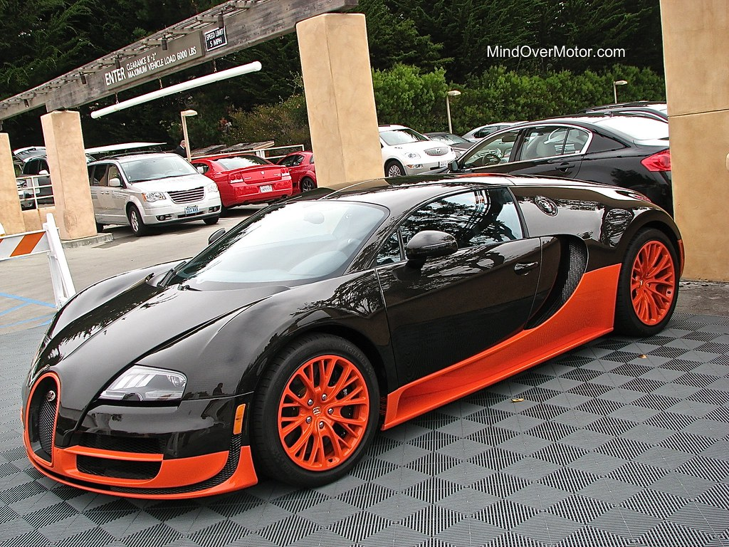 Bugatti Veyron Super Sport at Pebble Beach