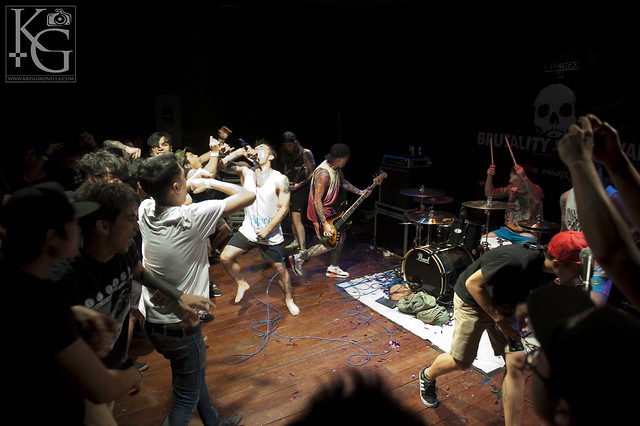 "Brutality Will Prevail - Live at ""The Substation"" Singapore"