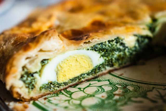 Torta pasquale voor de paasbrunch