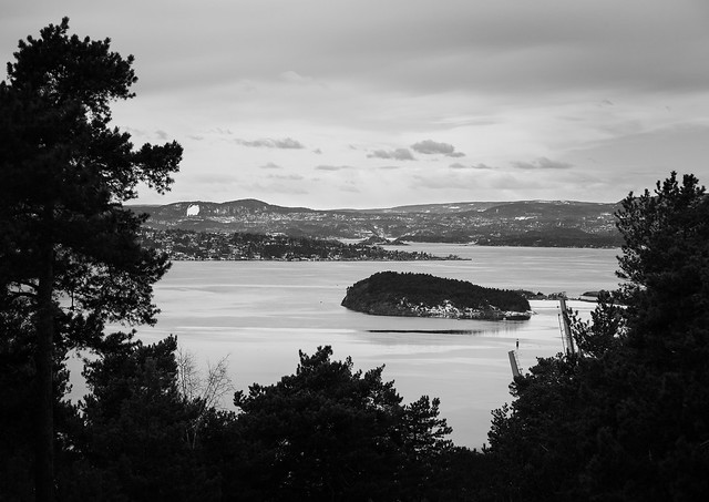 Utsikt fra Ekeberg