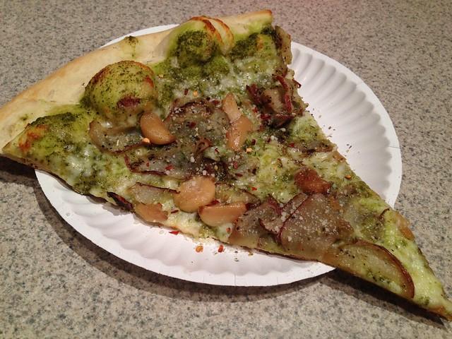 You Say Potato slice - Escape From New York Pizza