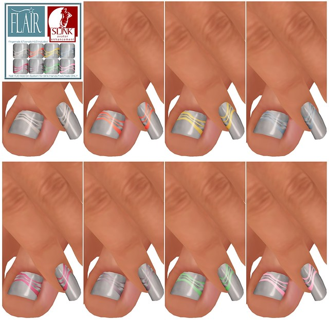 Flair - Nails Set 65