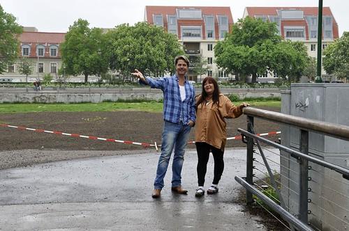 Välkommen ombord på Strömsholmen, hälsar Pontus Helander och Carina Perenkranz.