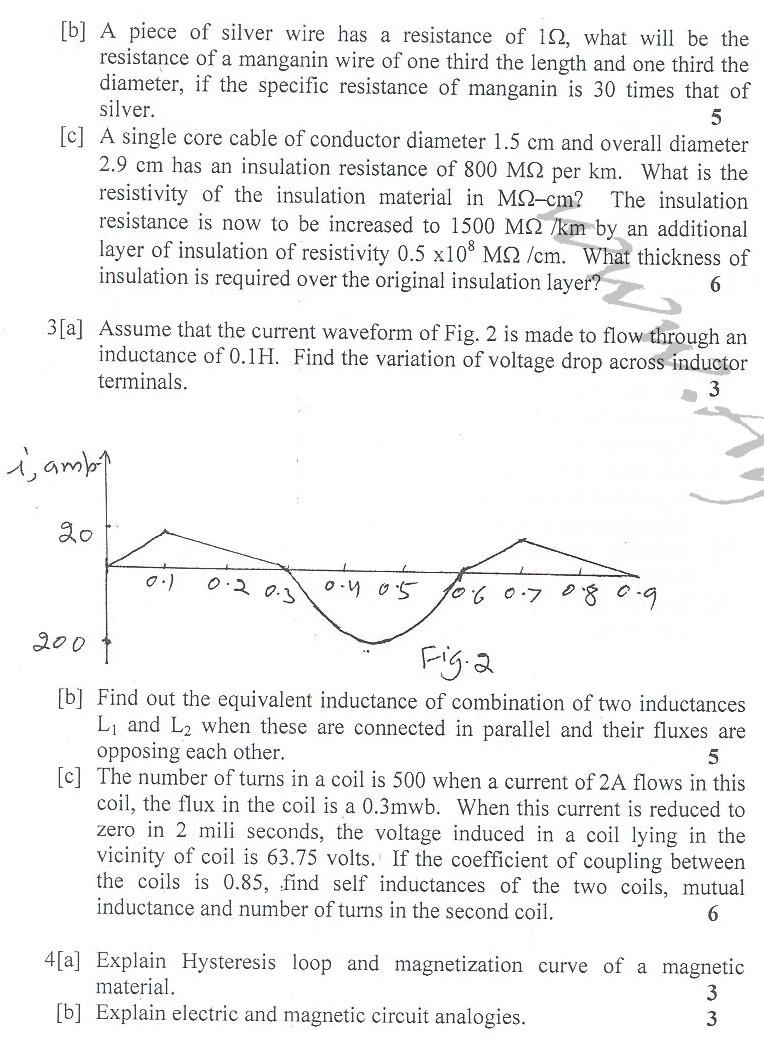 DTU Question Papers 2010 – 2 Semester - End Sem - COE-EC-EE-IC-111