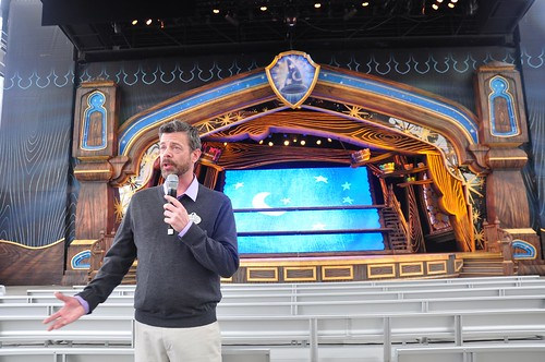Mickey and the Magical Map preview at Disneyland