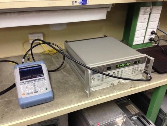 01 - 1040MHz Test Setup