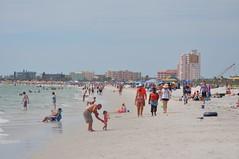 Sunset beach, Treasure island/Tampa bay