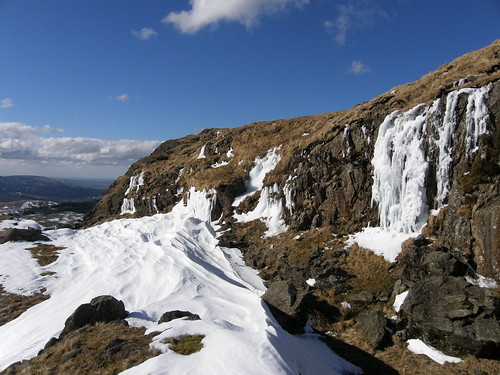 Snow drift and crag II