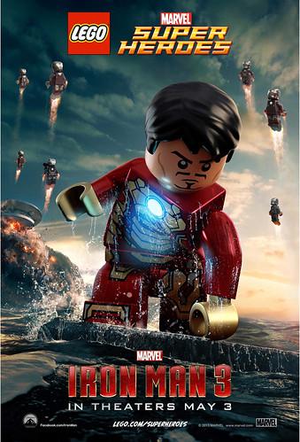 LEGO Iron Man 3 Poster 2