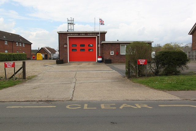 Attleborough Fire Station, Norfolk