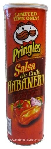 Pringles Salsa de Chile Habanero