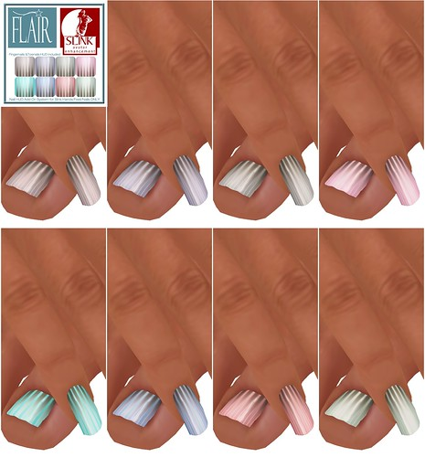 Flair - Nails Set 43