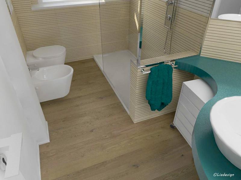 Parquet in bagno e rivestimenti pareti  MAMMEONLINE