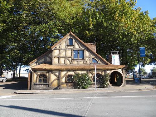 a hobbit hut