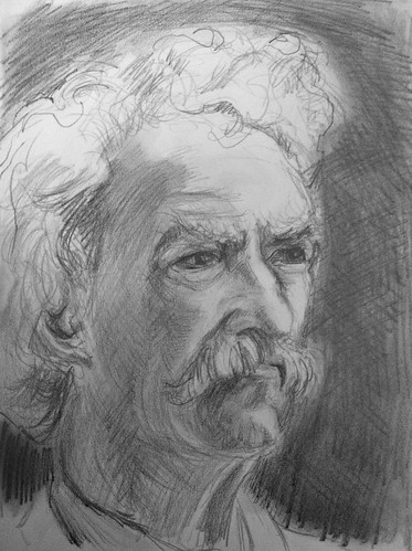 Mark Twain by husdant