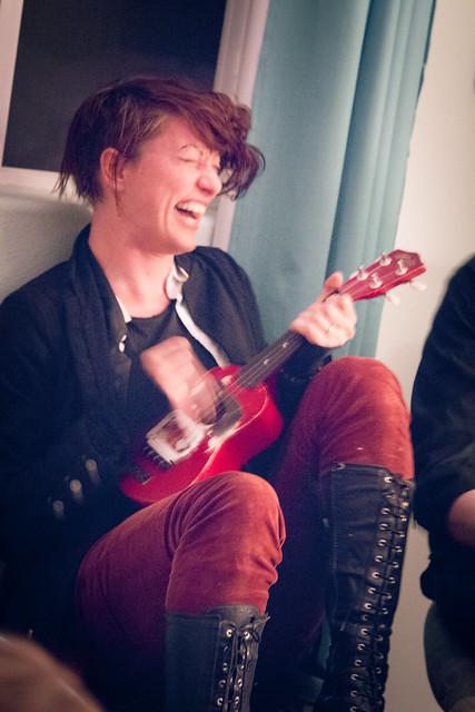 Amanda Palmer, Kickstarter House Party, Portland
