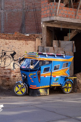 Pimped out mototaxi