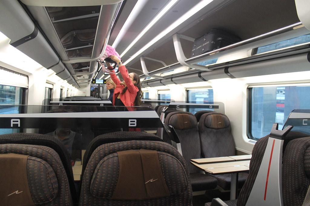 De Roma a Florencia en tren