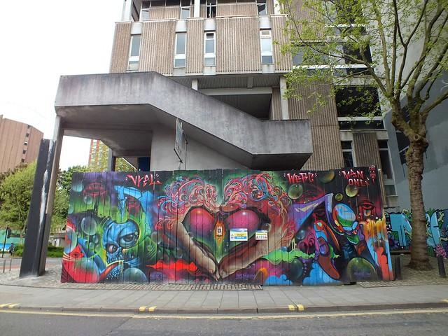 See No Evil Street Art, Bristol