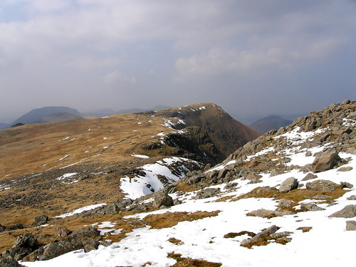 Looking back to Red Pike