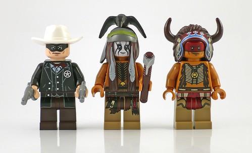 The Lone Ranger 79107 Comanche Camp figs01